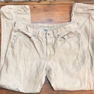 Eddie Bauer Brown/Tan Pants 35 x 34